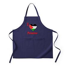 Palestine5 Apron (dark)