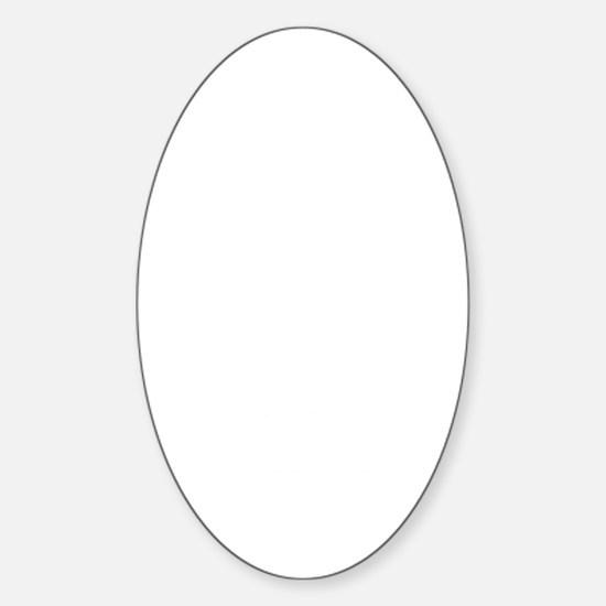 dg3white Sticker (Oval)