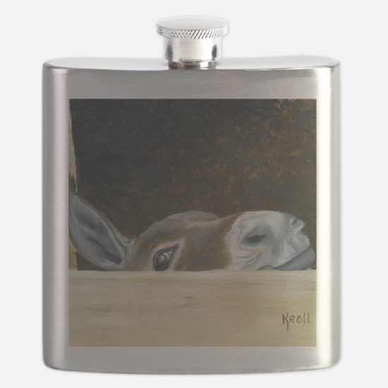 Iwannaseemousepad Flask