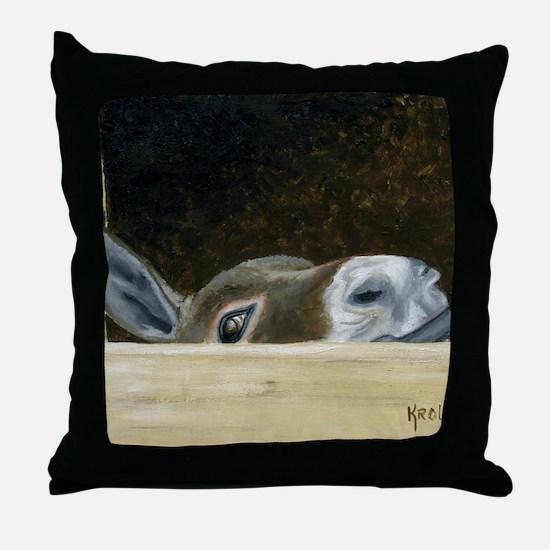 Iwannaseemousepad Throw Pillow