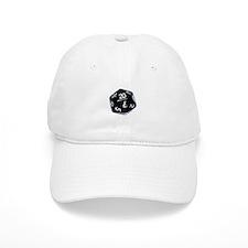black D20 Baseball Cap