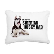 huskydadshirt Rectangular Canvas Pillow