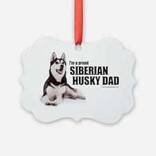huskydadshirt Ornament