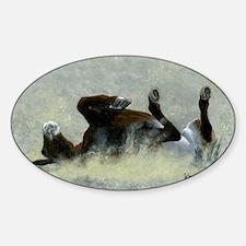 ohhhyeahmousepad Sticker (Oval)