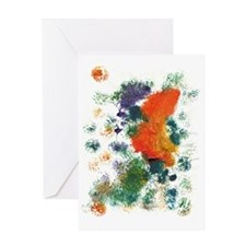 2-butterfly Greeting Card