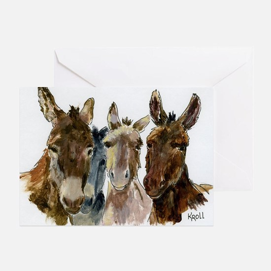 Donkey Greeting Cards Thank You Cards and Custom Cards – Donkey Birthday Card