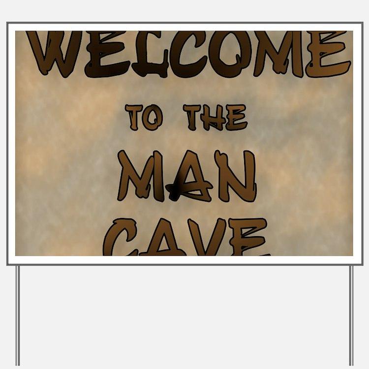 Man Cave Signs For Garage : Garage man cave yard signs custom lawn