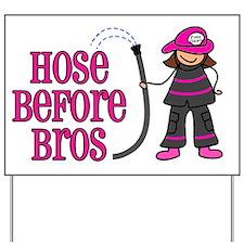 hose bros LARGER Yard Sign