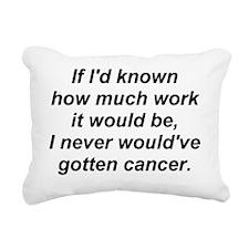 work-cancer-3-fixed-2010 Rectangular Canvas Pillow
