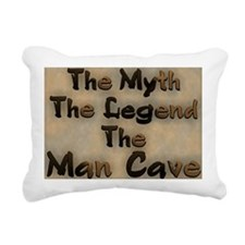 The Myth, The Legend Rectangular Canvas Pillow
