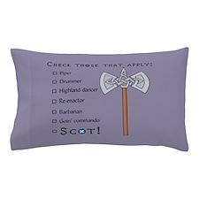 Checklist Pillow Case