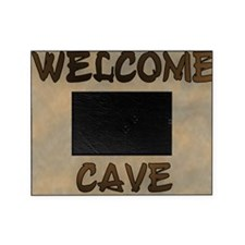 Welcome To The Man Cave Picture Frame