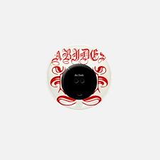 2-ABIDES_RED Mini Button