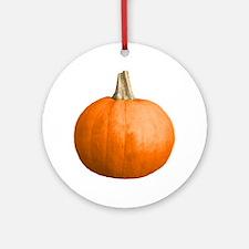 2-pumpkin Round Ornament