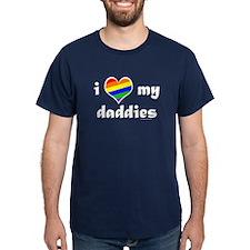 I Love My Daddies T-Shirt