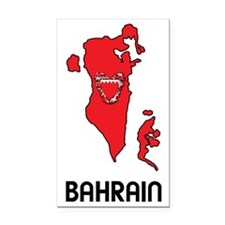 MapOfBahrain1 Rectangle Car Magnet