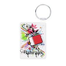 flowerBahrain1 Keychains