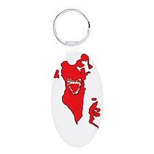 MapOfBahrain1Bk Keychains