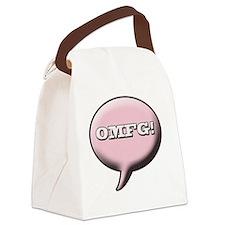 omfg Canvas Lunch Bag