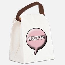 omfg Canvas Lunch Bag