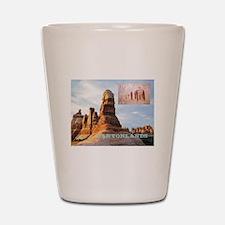 canyonlands1 Shot Glass