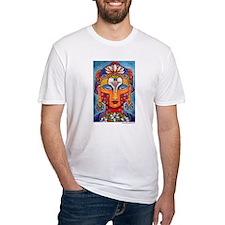 Kelli Bickman original 'Christ-Buddha'  Shirt