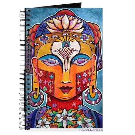 Kelli Bickman original 'Christ-Buddha' Journal