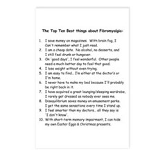 Top Ten for Fibromyalgia Postcards (Package of 8)