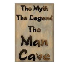 The Myth, The Legend, The Postcards (Package of 8)