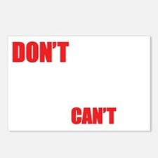 2-Dont-Tell-me-what-I-can Postcards (Package of 8)