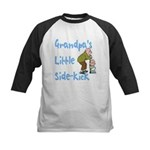 Grandpa's Sidekick Kids Baseball Jersey