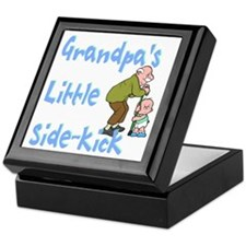 Grandpa's Sidekick Keepsake Box