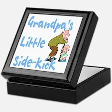 Grandpa's Sidekick Keepsake Box