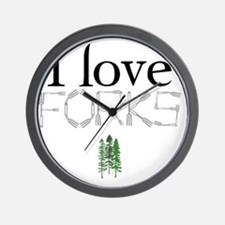love forks 2 Wall Clock