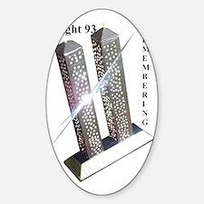 Flight 93 Sticker (Oval)