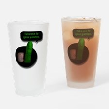 2-Take me to your garden comic Drinking Glass