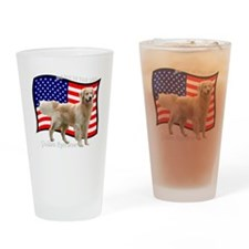 2-4thJulyRedMerge Drinking Glass