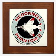 McDonnell_PhantomII_Wht Framed Tile