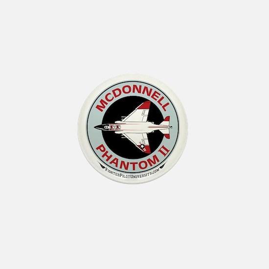 McDonnell_PhantomII_Wht Mini Button