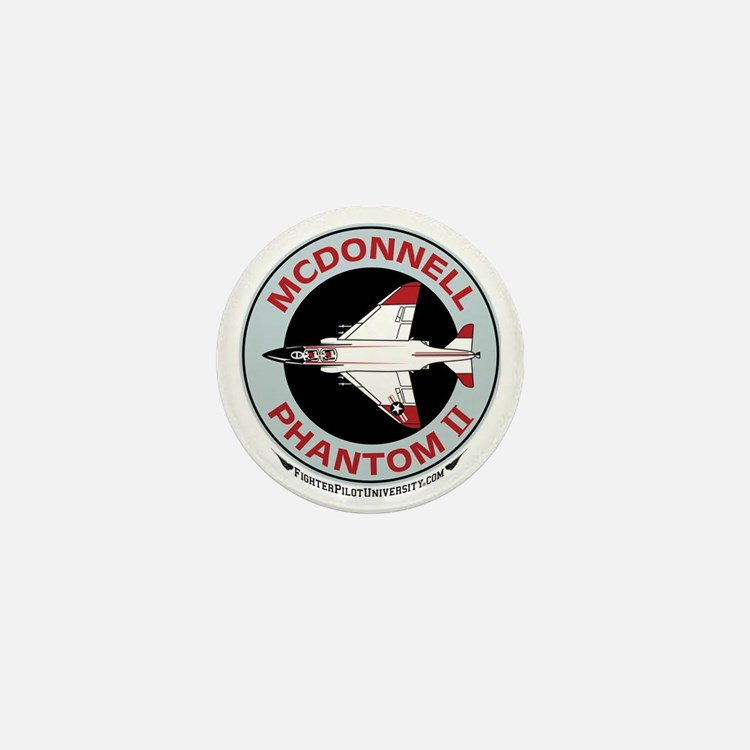 McDonnell_PhantomII_Wht Mini Button