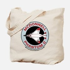 McDonnell_PhantomII_Wht Tote Bag
