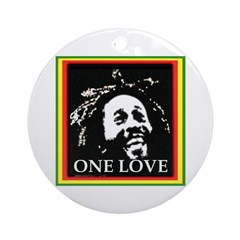 ONE LOVE Ornament (Round)