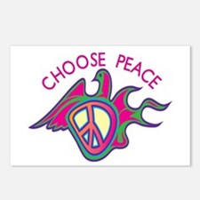 Choose Peace Postcards (Package of 8)