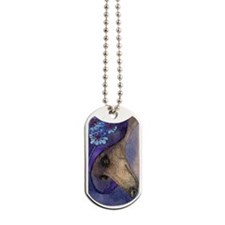 journal whippet of mystery Dog Tags