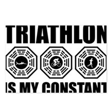 Triathlon-is-my-constant- Postcards (Package of 8)