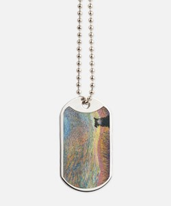 In the colour of evening Dog Tags
