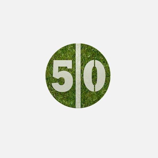 50th bday Pillow Mini Button