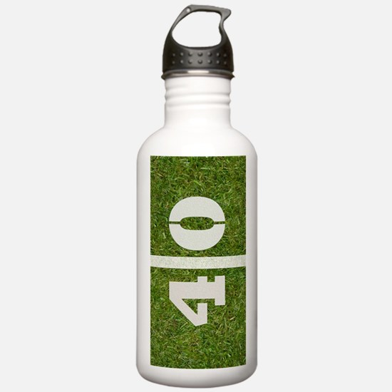 2-40th bday Journal Water Bottle