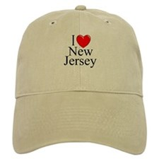"""I Love New Jersey"" Baseball Baseball Cap"