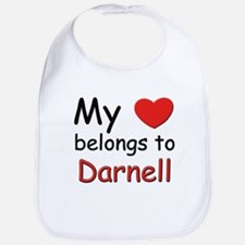 My heart belongs to darnell Bib